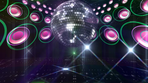 Disco Floor F1C1C4 HD Stock Video Footage