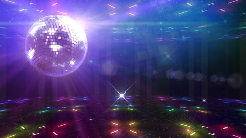 Disco Floor F1D1Sc HD Stock Video Footage