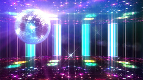 Disco Floor F1H1Sc HD Stock Video Footage