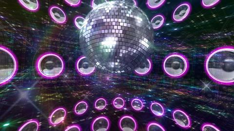 Disco Floor H2C1c HD Stock Video Footage