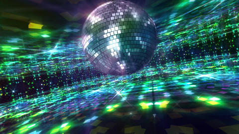 Disco Floor I2Bs HD Stock Video Footage