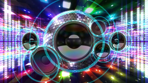 Disco Floor J1Sp HD Stock Video Footage