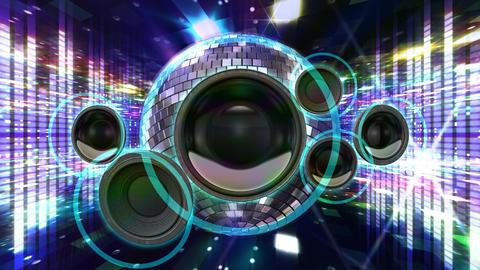 Disco Floor J1Sp HD Stock Video Footage