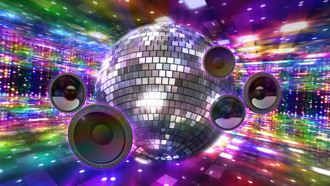 Disco Floor J2Sp HD Stock Video Footage