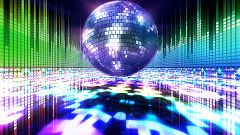 Disco Floor K1Eq HD Stock Video Footage