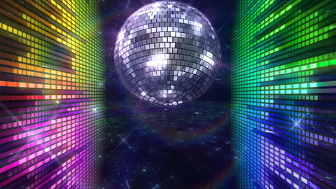 Disco Floor O1Eq HD Stock Video Footage
