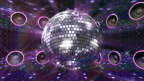 Disco Floor O4A HD Stock Video Footage