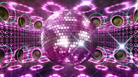 Disco Floor O4A HD Stock Video Footage