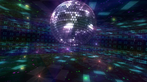 Disco Floor Q2Bs HD Stock Video Footage