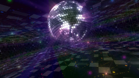 Disco Floor Q2Bs HD Stock Video Footage
