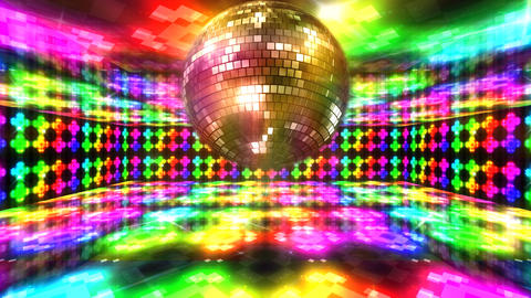 Disco Floor Q4Bs HD Stock Video Footage