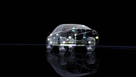 Car Electronics 2Cbl HD Animation