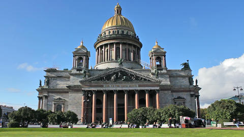 Saint Isaac's Cathedral Footage