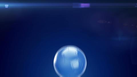 Soccer Promo Scene Stock Video Footage