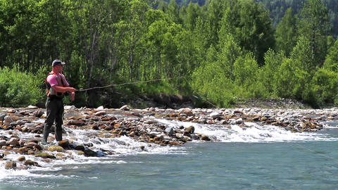 Fly fishing Live Action