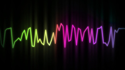 audio wave line color Animation