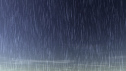 raining whole day Stock Video Footage