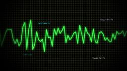 audio wave line blue maths Stock Video Footage
