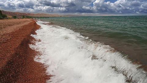 Bright sand Footage