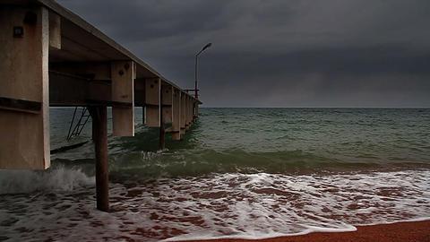 Pier Stock Video Footage