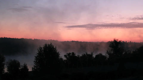 Sunrise Mist Footage