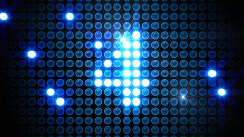 LED Countdown AdM2 HD Stock Video Footage