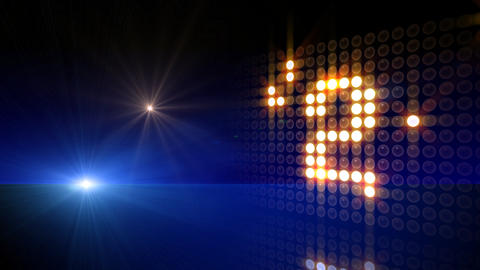 LED Countdown AdS1 HD Stock Video Footage