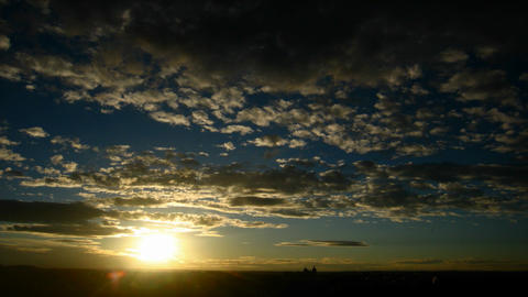 Beautiful Sunrise Time Lapse Footage