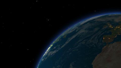 [alt video] sunrise over the earth