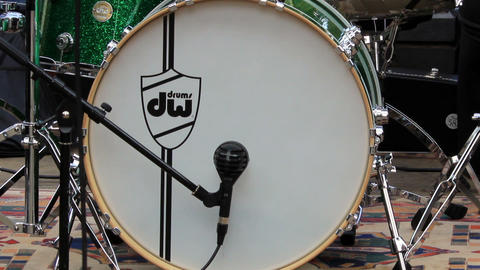 Bass Drum stock footage