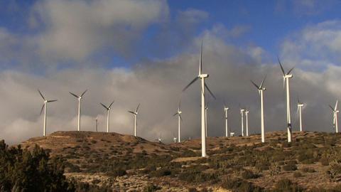 Wind Turbines 3006 Footage