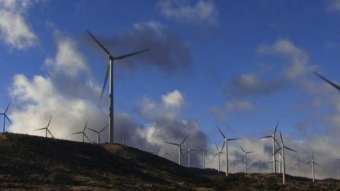 Wind Turbines 3008 Footage
