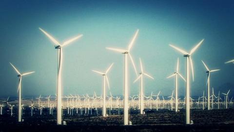 Wind Turbines 3017 Footage