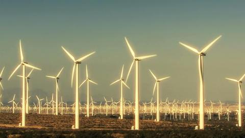 Wind Turbines 3020 Footage