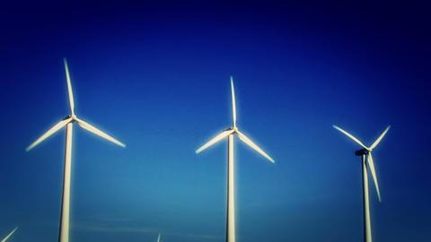 Wind Turbines 3022 Footage