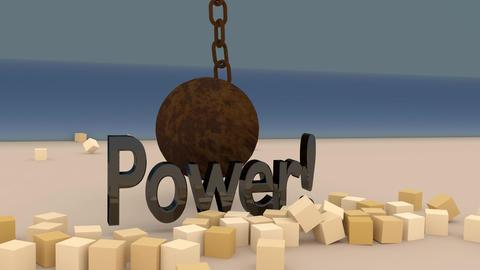 Indestructible Power Animation