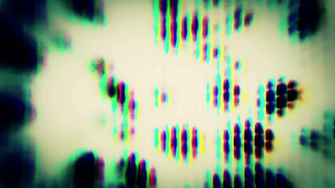 Hypnotic TV Noise 0766 Footage