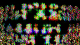 Abstract TV Noise 0770 Footage
