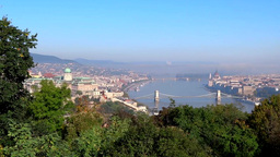 Budapest City Hungary stock footage