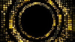 Leds Circles stock footage