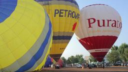 air balloon festival 4k Footage