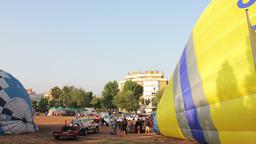 4k Balloons02 stock footage
