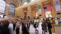 new york grand central station manhattan Footage