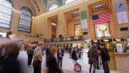new york grand central station manhattan Footage