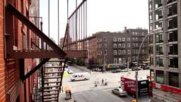 Street New York Manhattan Skyline NYC Ny 4k stock footage