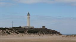 cabodegata lighthouse spain 4k Footage