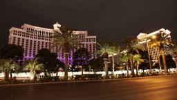 las vegas nevada caesers palace night Footage