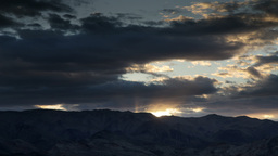 Death Valley Sunset0 stock footage