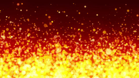 Fiery Particles Background Animation