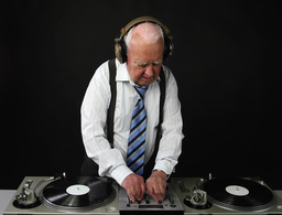 Grandpa Dj4k10 stock footage